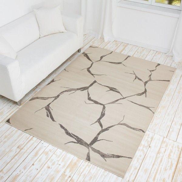 Designer Teppich Crumble - Kurzflor Teppich mit Bruch-Muster