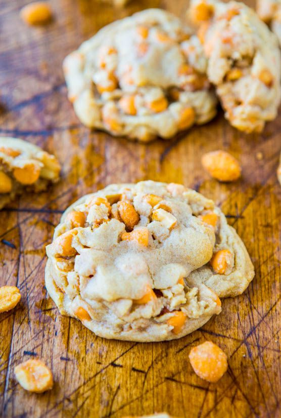 Soft and Chewy Honey Roasted Peanuts and Butterscotch Chip ...