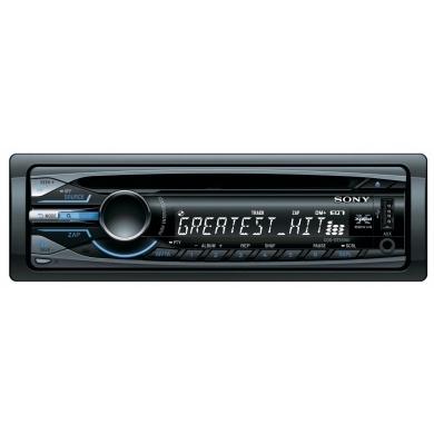 Radioodtwarzacz CD mp3 z funkcjami bezpośredniego sterowania iPodem / telefonem iPhone.