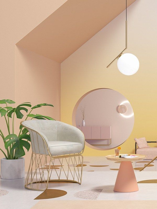 Interior Color Trends 2019 Pastel Pinterest Colorful Interiors