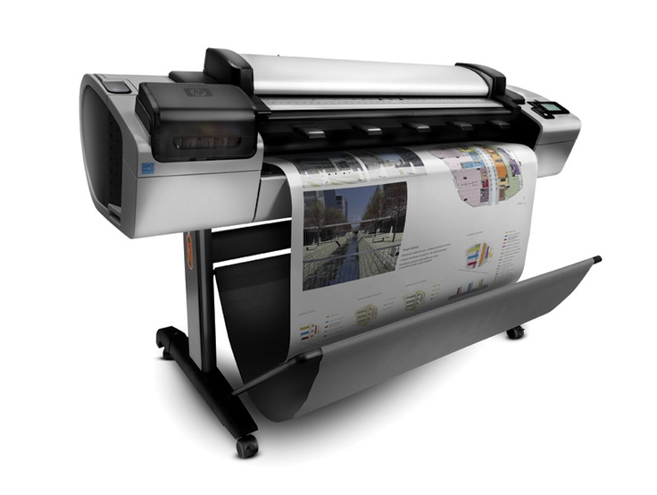 HP Designjet T2300eMFP & HP PRINT AND SHARE