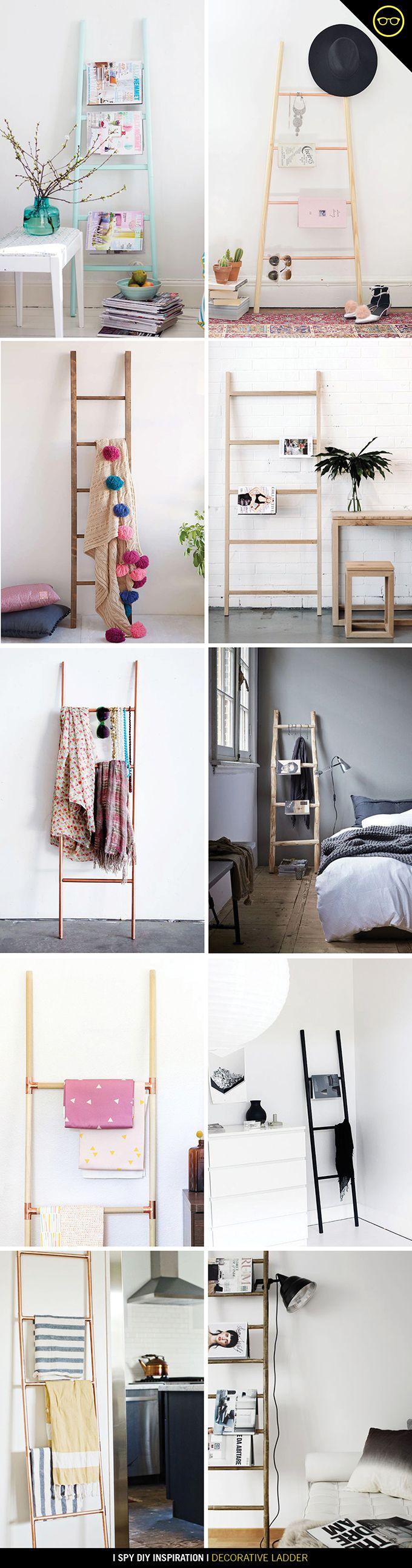 DIY INSPIRATION | Decorative Ladder | I Spy DIY | Bloglovin