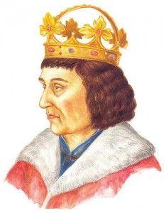 Matyáš Korvín (Havran), král uherský a chorvatský, český spolukrál (vládl jen na Moravě), rakouský vévoda