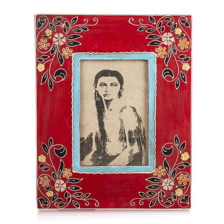 Floral Exotic Photo Frame