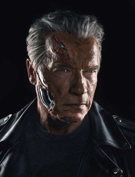 """Arnold Schwarzenegger am Set von """"Terminator: Genesis""""."""