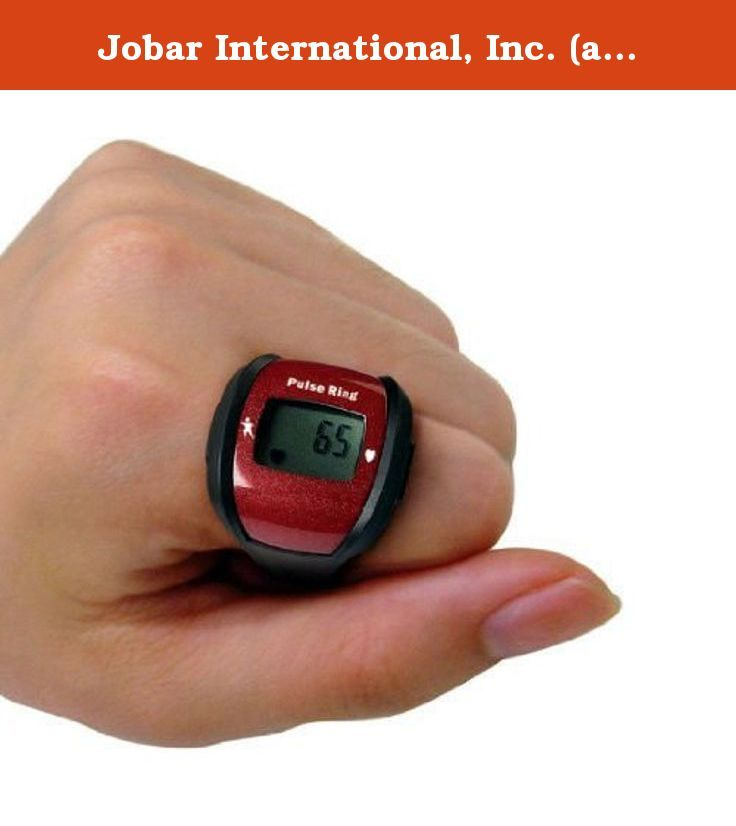Jobar International, Inc. (a) Sports Pulse Ring. RET6235 Get Your Pulse Rate Fast & Easy. 3-in-1 Function: 1. Pulse Rate 2. Stopwatch 3. Clock. For sports & fitness - non-medical use. Features: -Sport pulse ring. -Can be set to audibly alert you when your heart rate exceeds or falls below normal. -Slide on your finger and display pulse reading on LCD with the touch of a button. -Get your pulse rate fast and easy. -3-In-1 function pulse rate, stopwatch, clock. -For sports and fitness -...