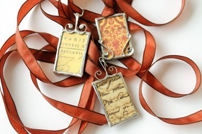 """~tutorial for making """"simple soldered pendants"""""""