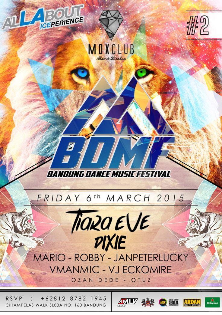 #BDMF Bandung Dance Music Festival #2  Mox Club