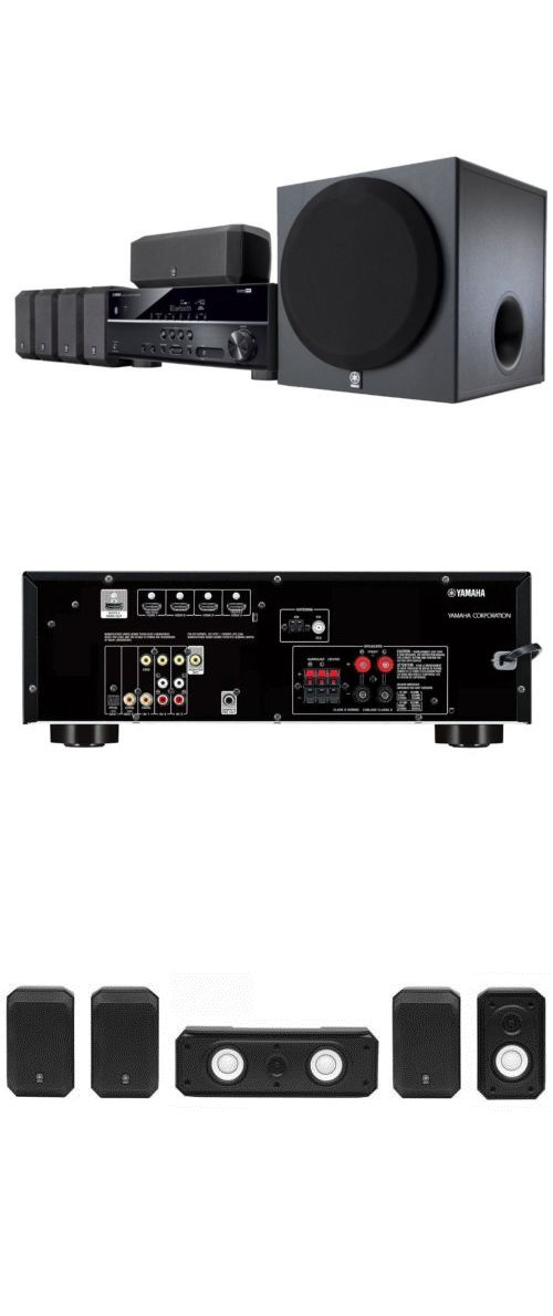 Home Theater Systems: Yamaha Yht-3920Ubl 5.1-Channel Av Home Theater System (Yht3920ubl) New Fast Ship -> BUY IT NOW ONLY: $429.95 on eBay!