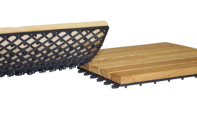 Pardoseala exterioara lemn masiv deck