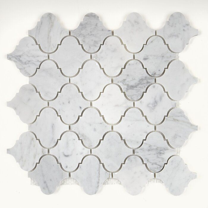 Harrison 13 X 14 Marble Mosaic Tile In 2020 Marble Mosaic