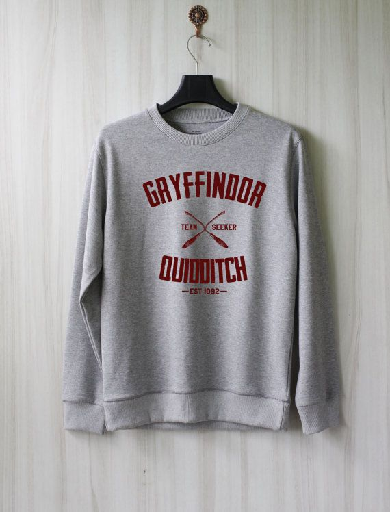 Quidditch de Gryffondor Harry Potter chemise Sweatshirt par SaBuy