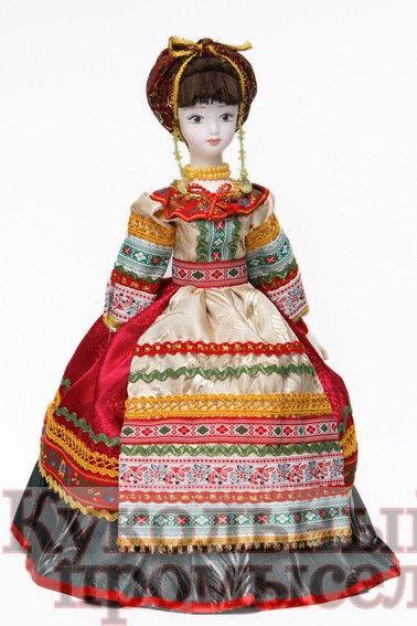 Кукла-конфетница Солоха 027-001