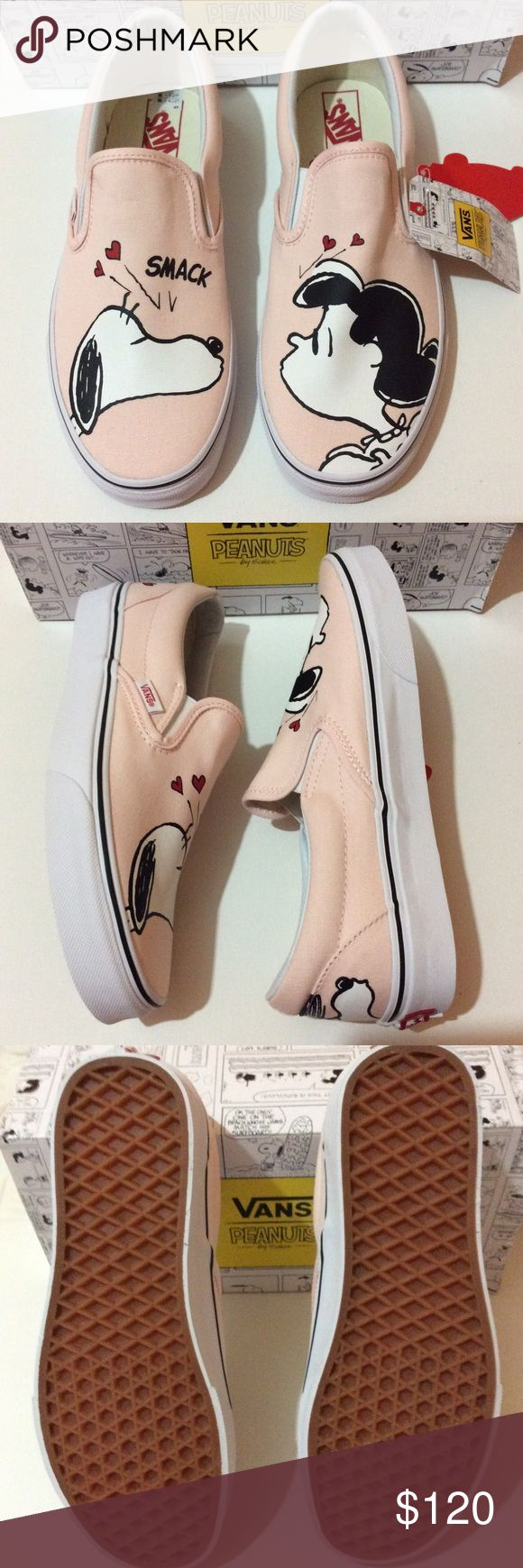 Vans Classic Slip-On X Peanuts Brand new. Limited Edition. Vans Shoes Sneakers