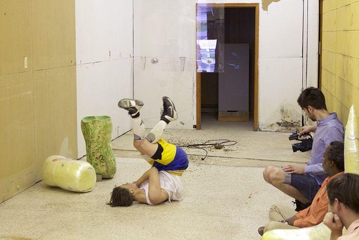 VCU Arts, Performance by Sculpture + Extended Media graduate student Savannah Knoop.