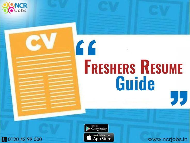 If you are new in the job market then you have to know the #FreshersResumeGuide. It helps candidates to have a freshly updated resume format. See more @ goo.gl/9sVzTW Download App @ http://bit.ly/2nxOUn3 #NCRJobs #ResumeTips