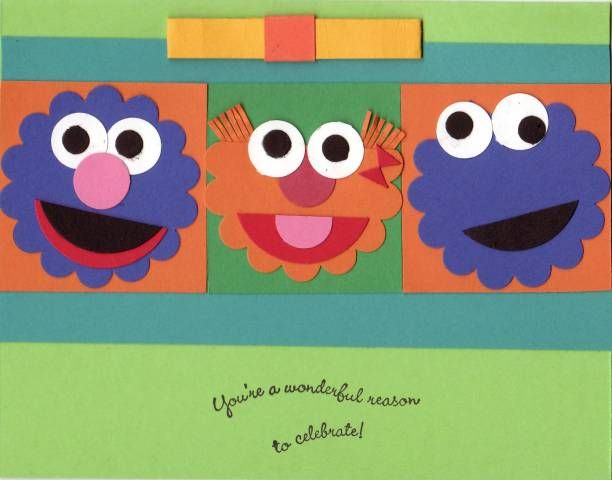 Sesame Street Crafts For  Year Olds