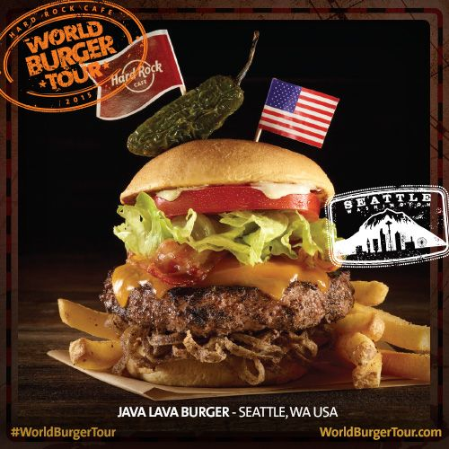 Java Lava Burger - SEATTLE, WA, EUA #WorldBurgerTour