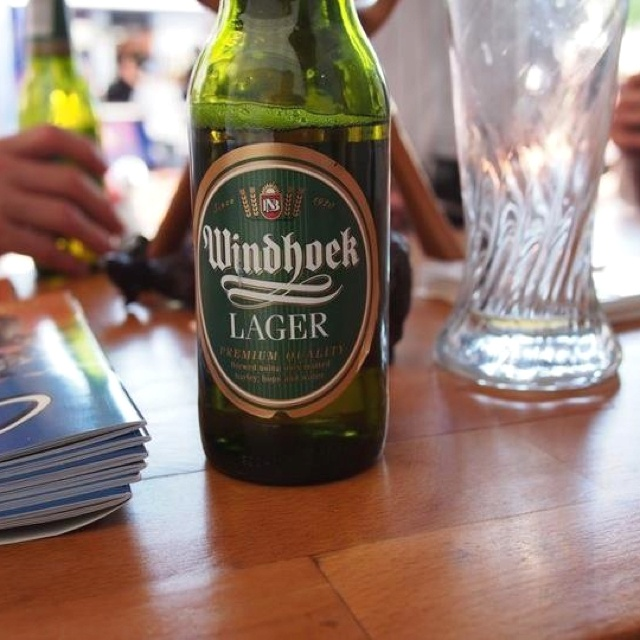 I might even try it...Windhoek Lager