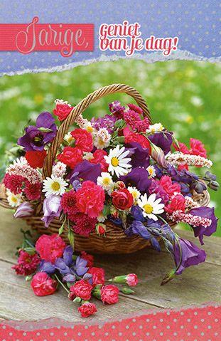 Gefeliciteerd Met Bloemen