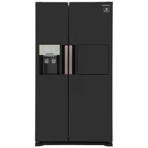 Samsung H-Series RS7677FHCBC American Fridge Freezer - Black Gloss
