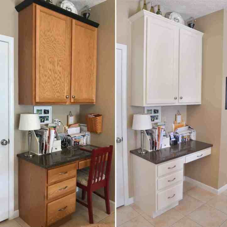Tips Tricks For Painting Oak Cabinets In 2020 Painting Oak Cabinets Oak Cabinets Oak Kitchen Cabinets