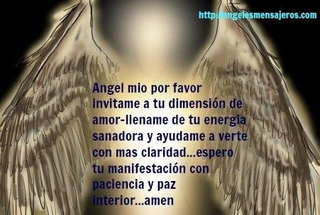 oracion del angel- como hablar con mi angel-contactar angeles-como hablar con angeles