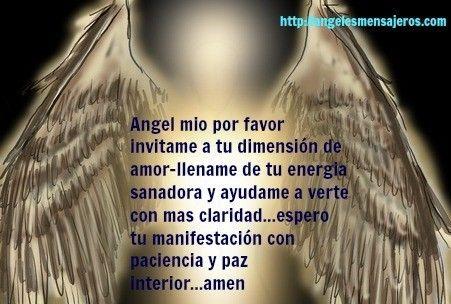 oracion del angel- como hablar con mi angel-contactar angeles-como hablar con angeles