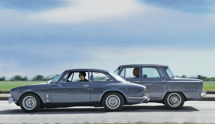 Alfa Romeo GT 1600 Junior and Alfa Romeo Giulia Super