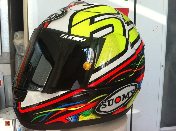 Suomy Excel L.Capirossi Test Brno MotoGP 2012 by Starline