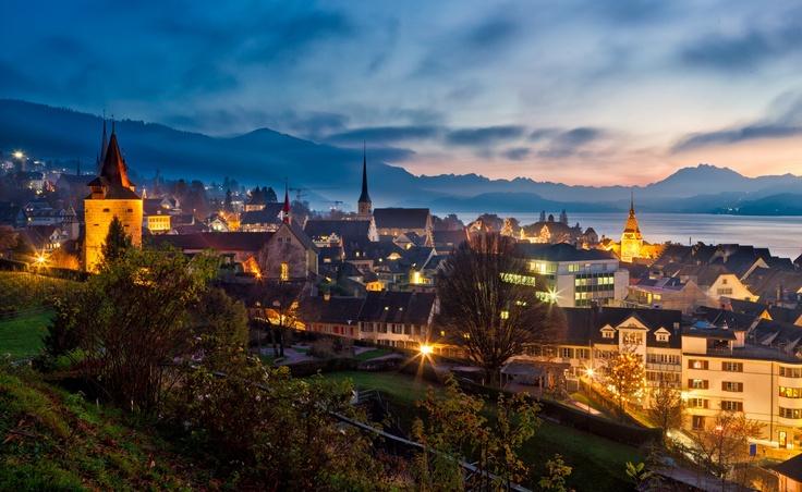 The Twilight Town Zug Switzerland Http 500px Com