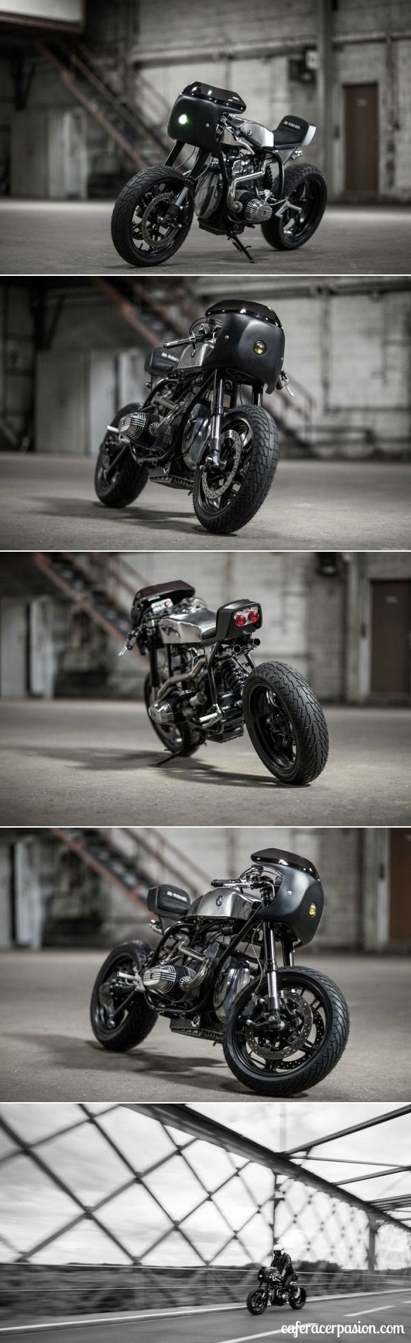 BMW R65 Cafe Racer by Ed Turner #motorcycles #caferacer #motos | caferacerpasion.com