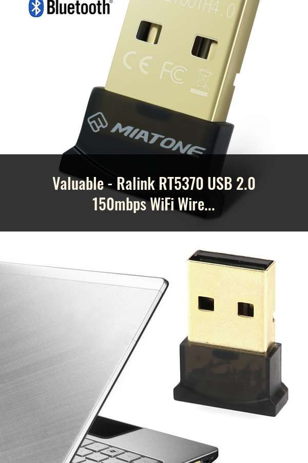 Ralink RT5370 USB2.0 150mbps WiFi Wireless Network Card 802.11 b//g//n LAN Adapter