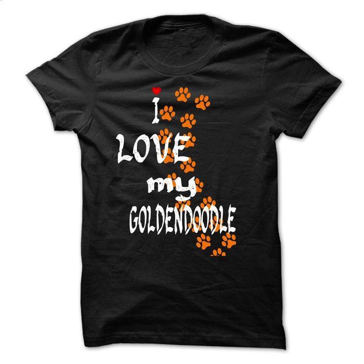 Love Goldendoodle T Shirts, Hoodies, Sweatshirts - #cheap tees #designer shirts. ORDER NOW => https://www.sunfrog.com/Pets/Love--Goldendoodle-Black-37996960-Guys.html?60505