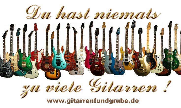 www.Gitarrenfundgrube.de - gebrauchte Gitarren für zum fairen Preis