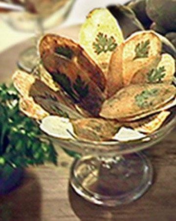 Parsley Potato Chips #Chips #Dips #Salsa #Potato #Kettle #Corn #Rice