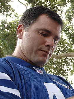 Adam Matthew Vinatieri (born December 28, 1972) is an American football placekicker currently playing for the Indianapolis Colts. He has played in five Super Bowls, three with the New England Patriots and two with the Colts. Vinatieri won a Super Bowl in 2006 with Indianapolis and won Super Bowls in 2001, 2003, and 2004 with the Patriots. Vinatieri is the first kicker ever to win four Super Bowl rings.