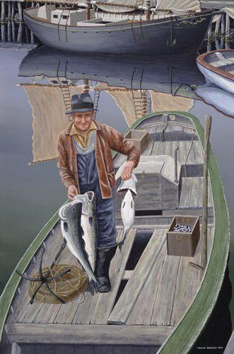 """A Good Catch"" by Trevor Bradley"