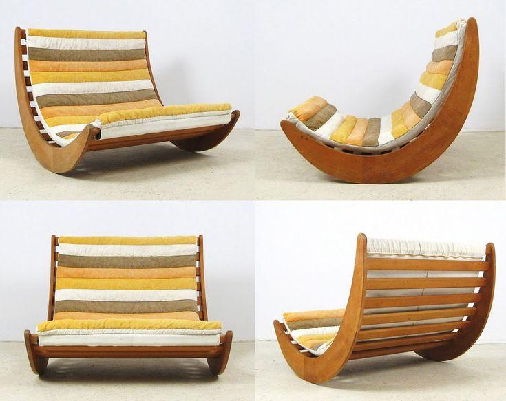 "Verner Panton for Rosenthal Studio Line ""Relaxer - Two Seater"" 1974"