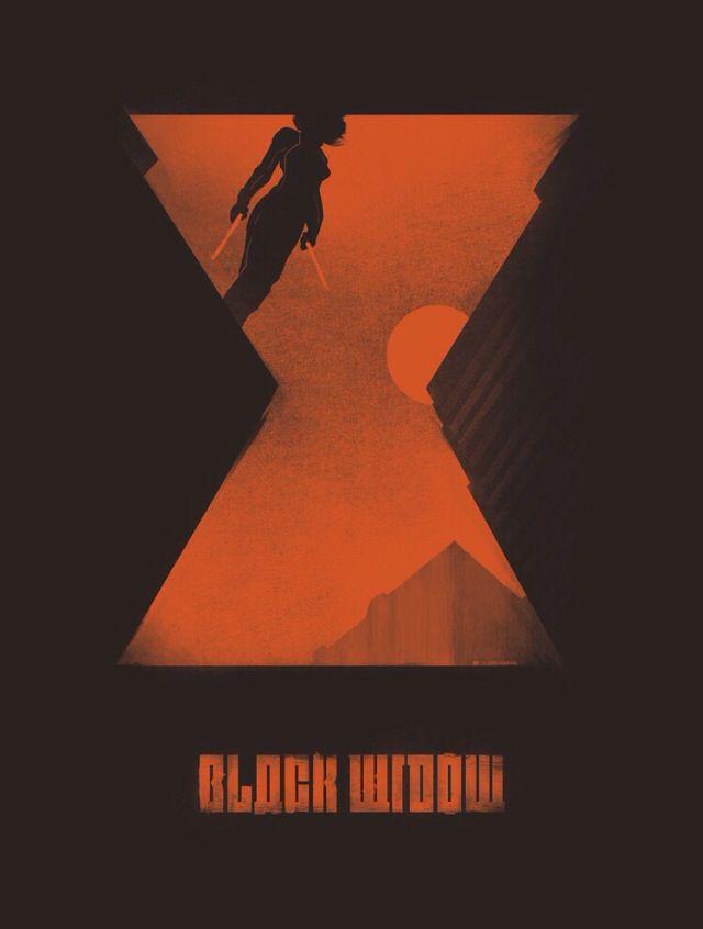 black widow/♔ AvengerStyle 2  S'ils pouvaient l'utiliser comme affiche pour un film spécial sur Widow