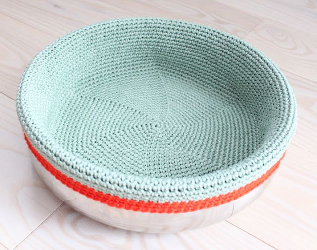 Lutter Idyll: Make the ... crocheted bread basket