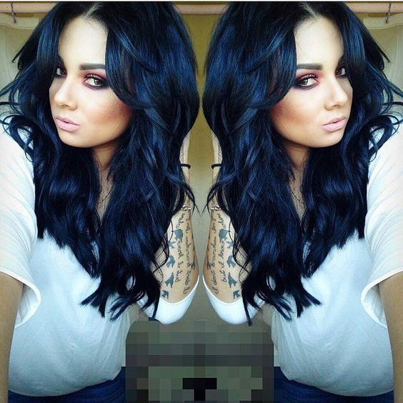 Αφιέρωμα στα blue black μαλλιά!!!