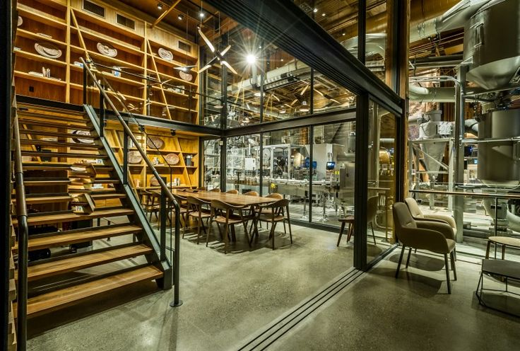 This new Starbucks shop looks a little bit Willy Wonka's chocolate factory | Design Diffusion - Design Projects