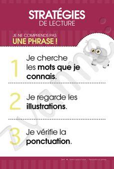 Stratégies (3) - Comprendre une phrase