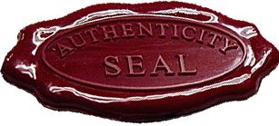 Seal of Authenticity   Blog This   Pinterest   Consideration, The ...