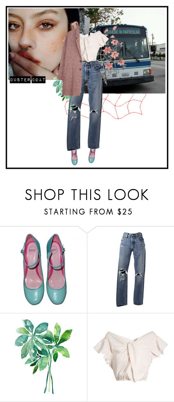 """""""just for a while"""" by dancingwithyou ❤ liked on Polyvore featuring Annabel Winship, Levi's, Rachel Comey, Zenggi and DusterCoats"""