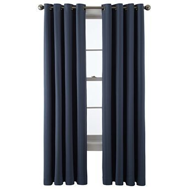 jcp home™ Castor Blackout Grommet-Top Curtain Panel - JCPenney