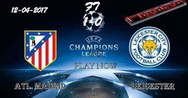Atl. Madrid 1 - 0 Leicester HIGHLIGHTS 12.04.2017