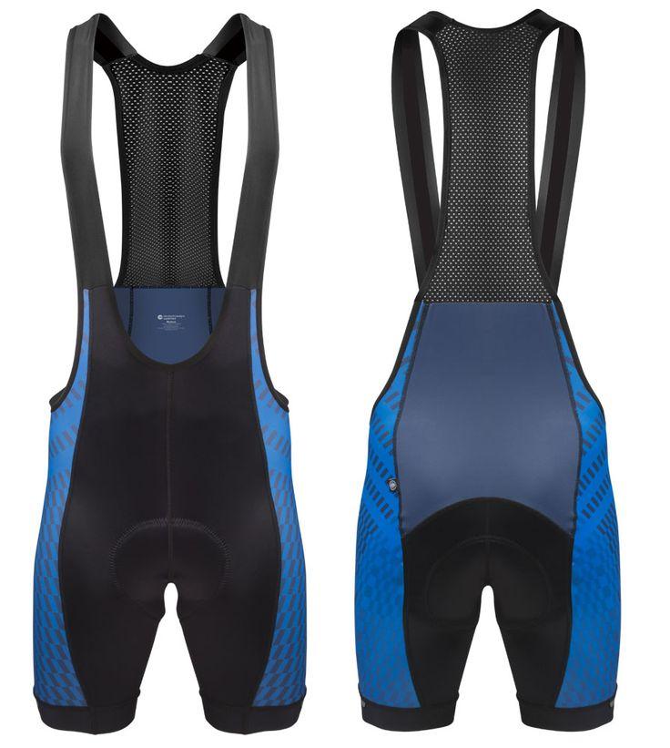 Aero Tech Designs Power Tread Cycling Bib Shorts - Made In USA