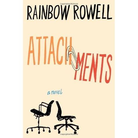 Attachments by Rainbow Rowell. YA for adults. College grad Lincoln works a mind-numbing job as an IT security guy where he's told to read the emails caught in the security filter and dole out warnings to wrong-doers in the company. He's loved and lost before and now, living at home with his mother at nearly 30 years old he drags through each day struggling to find motivation to change his life. Then he begins reading the email exchanges between two employees: Beth & Jennifer...